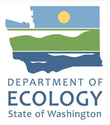 Photo of Washington State Department of Ecology Logo Tall Colo
