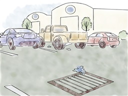 Photo of Stormwater Messaging Toolkit: Image - Parking Lot Grate_color image
